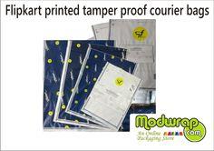 #FlipKart Printed Tamper Proof #Courier Bags available online at Modwrap. To Buy online visit: