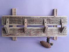 Wood Hanger, Wall Hanging, Handmade Wood Hanger, Wood Hook, Furniture, Clothing Storage, Rustic Coat Rack