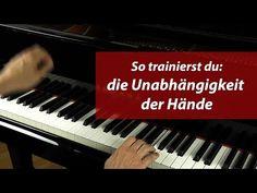 Klavier spielen – So trainierst du die Unabhängigkeit der Hände – Anfänger - YouTube