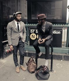 Bags, jackets, hats, good jeans. Yes, yes gents.