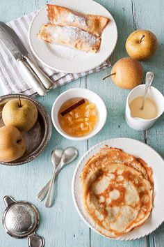 Crêpes with Asian Pears Compote | 27 Mindblowing Ways To Eat Crêpes
