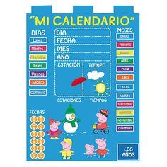 Calendario de fieltro