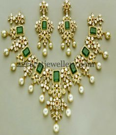 Jewellery Designs: Exclusive and Latest Kundan Necklace