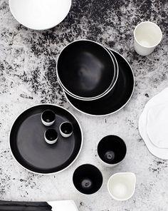 ceramic, black&white, wintermood