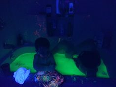 Children At Play: So Much Fun with Our Glow Bath!
