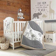 Levtex® Baby Animal Sketch Crib Bedding Collection