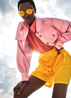 VISIT FOR MORE Herieth Paul Wears Hockney Pastels Lensed By Enrique Badulescu For ELLE Germany February 2018 www.anneofcarvers The post Herieth Paul Wears Hockney Pastels Lensed By Enrique Badulescu For ELLE German appeared first on Fashion design. Fashion Photography Poses, Fashion Photography Inspiration, Fashion Poses, Fashion Week, Fashion Trends, Party Fashion, Fashion Fashion, Photography Ideas, Fashion Dresses