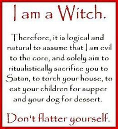 If I get hungry I have my own kids, I don't sacrifice anything or anyone.   Evil...only if you wanna get on my bad side ;-)  BTW I'm allergic to dogs...I'll pass on that.