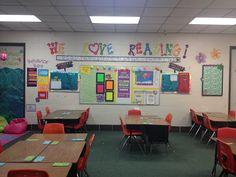 Third grade reading and writing classroom. Classroom tour.