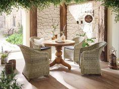 Gartentisch Tisch Esstisch massiv TEAK lasiert D150cm NEU in Nordrhein-Westfalen - Rietberg   eBay Kleinanzeigen