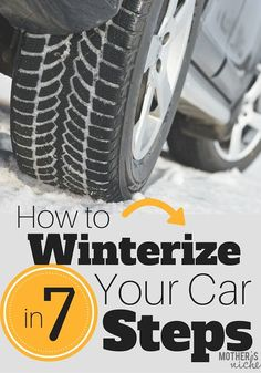 Did you know you are supposed to winterize your car every year? Here are 7 things you should do to protect the investment on your car and keep up on maintenance