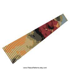 PP70  2 Drop Peyote Stitch Bracelet Pattern  by PalacePatterns, $4.00