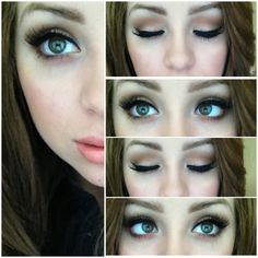 My Favorite Everyday Matte Eye Look. Yeah this won't happen everyday. Probably not even every week...