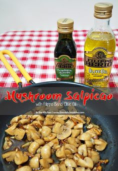 Easy and healthy Mushroom Salpicao recipe.  http://www.themisischronicles.com/mushroom-salpicao-with-filippo-berio-olive-oil/