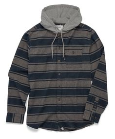 Altamont Wafford Hooded Wovenshirt hoodie