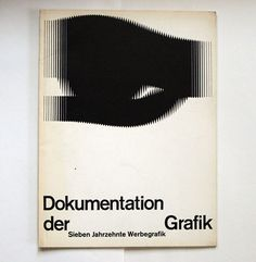 herbert w. kapitzki/ the cover design is based on a logo by wilhelm deffke. Typography Layout, Graphic Design Typography, Graphic Design Art, Print Design, Branding Design, Book Cover Design, Book Design, Layout Design, International Typographic Style