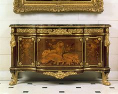 Commode with Pastoral Marquetry attributed to Jean-Henri Riesener ... www.pinterest.com600 × 480Buscar por imágenes Commode with Pastoral Marquetry attributed to Jean-Henri Riesener circa 1775 on display in the