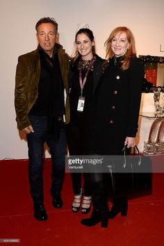 Patti Scialfa, Jessica Springsteen and Bruce Springsteen attend day 3 of the Gucci Paris Masters 2013 at Paris Nord Villepinte on December 7, 2013 in Paris, France.