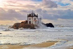 Photo listed in Sea and Sand Shot taken with NIKON mm. 61 shares, 105 likes and 1762 views. Places In Portugal, Porto Portugal, Spain And Portugal, Portugal Travel, Cool Places To Visit, Places To Go, Baroque Architecture, Beautiful Beaches, Monument Valley