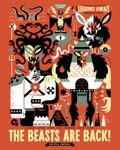 The Beasts Are Back - Christopher Lee's Portofolio  www.thebeastisback.com