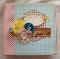 Chipboard Album Ocbrandy TPHH Premade Photo Scrapbook Handmade Keepsake Mini | eBay