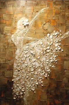 Самая дешевая Балерина картина маслом Рука & Печатный Картина маслом на холсте Для дома декоративного искусства Картина