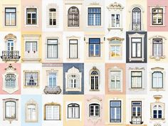 André Vicente Goncalves - Windows of the World - Coimbra Alcacer Do Sal, Hotel Floor Plan, Brick Paper, Mexican Hacienda, Building Front, Amsterdam, Goncalves, Photography Projects, Window Design