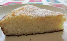 torta de yuca con coco casera