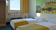 Zweibettzimmer im B&B Hotel Hannover