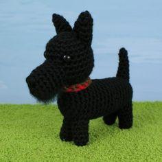 AmiDogs Scottish Terrier (Scottie) amigurumi crochet pattern