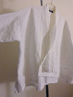 Blanque jacket kimono lagenlook top artsy art to wear white designer sz OS #Blanque #BasicJacket