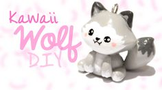 Kawaii wolf in polymer clay! Yay! ^____^ Thank you so much to everyone who requested this! Have any ideas about what I should do next? Tell me in the comment...