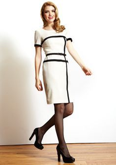 1.ANNE KLEIN, Mondrian Dress :It used same art to be the design concept.