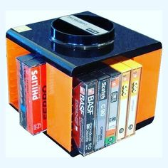 Ah yes, the old cassette carousel, only mine didn't have orange on it! Good Old Times, The Good Old Days, My Childhood Memories, Sweet Memories, Nostalgia, Pub Quiz, Peter Et Sloane, Those Were The Days, Ol Days