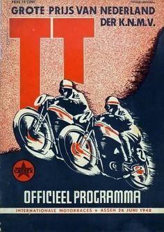 1948 Dutch T. Motorcycle Logo, Motorcycle Posters, Racing Motorcycles, Vintage Motorcycles, F1 Posters, Poster Ads, Advertising Poster, Retro Bike, Bike Poster