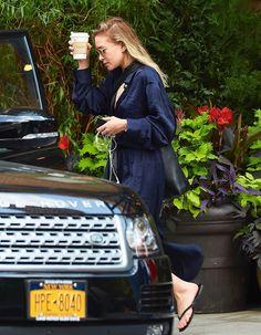 Ashley leaving Locanda Verde restaurant in NYC, June 19, 2017
