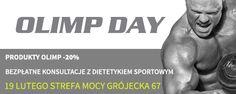 Piotr Głuchowski, mistrz świata w kulturystyce będzie gościem na OLIMP DAY w Strefie Mocy!