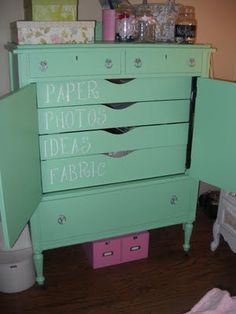 this would make a cute little girls dresser
