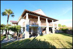 Tybee Vacation Rentals - Van Horne Villa - Oceanfront Vacation Rental on Tybee Island, GA