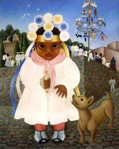 femmes artistes peintres women artists painters : Rosa Rolanda Covarrubias (1897-1962)