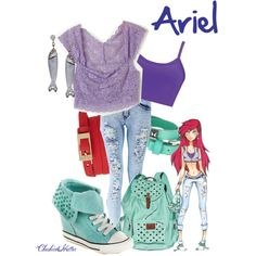 """Ariel"" by cheshirehatter on Polyvore"