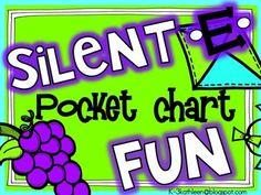 Silent E Pocket Chart FUN!
