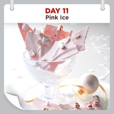 25 Days of Christmas Cheer :: Day 11 :: Pink Ice Recipe