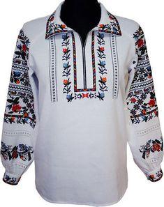 #вишиванка, жіноча вишивана блузка на домотканому полотні (Арт. 01765)