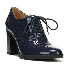 Women's Franco Sarto Maze Heeled Oxford Twilight