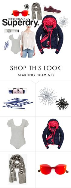 """The Cover Up – Jackets by Superdry: Contest Entry"" by quai-lo-geisha ❤ liked on Polyvore featuring L. Erickson, CB2, Superdry, Miss Selfridge, Voz, RetroSuperFuture and Diptyque"