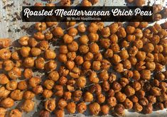 Roasted Mediterranean Chick Pea's Recipe I was recently in Miami for an event and met a man from Israel. We talked about food of course and he asked if I made any mediterranean dishes. I of course …