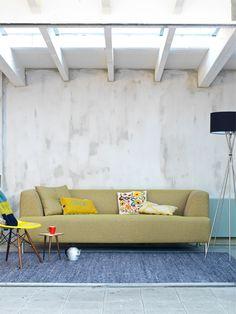 Swing. Heerlijke bank van Coming Lifestyle met nosag-en bonell-vering en koudschuim voor een geweldige zit. http://www.winjewanje.nl/3-zits-bank-swing