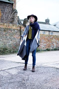 Cape/Blanket Thing: The Outfit Post