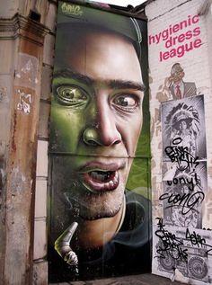 Foto: • ARTIST . SMUGONE •  ◦ Untitled ◦ location: London, Uk #streetart
